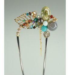 Broche bijoux fantaisie - épingle à cheveux
