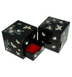 petite boite bijoux de luxe nacre abalone naturelle. Black Bedroom Furniture Sets. Home Design Ideas