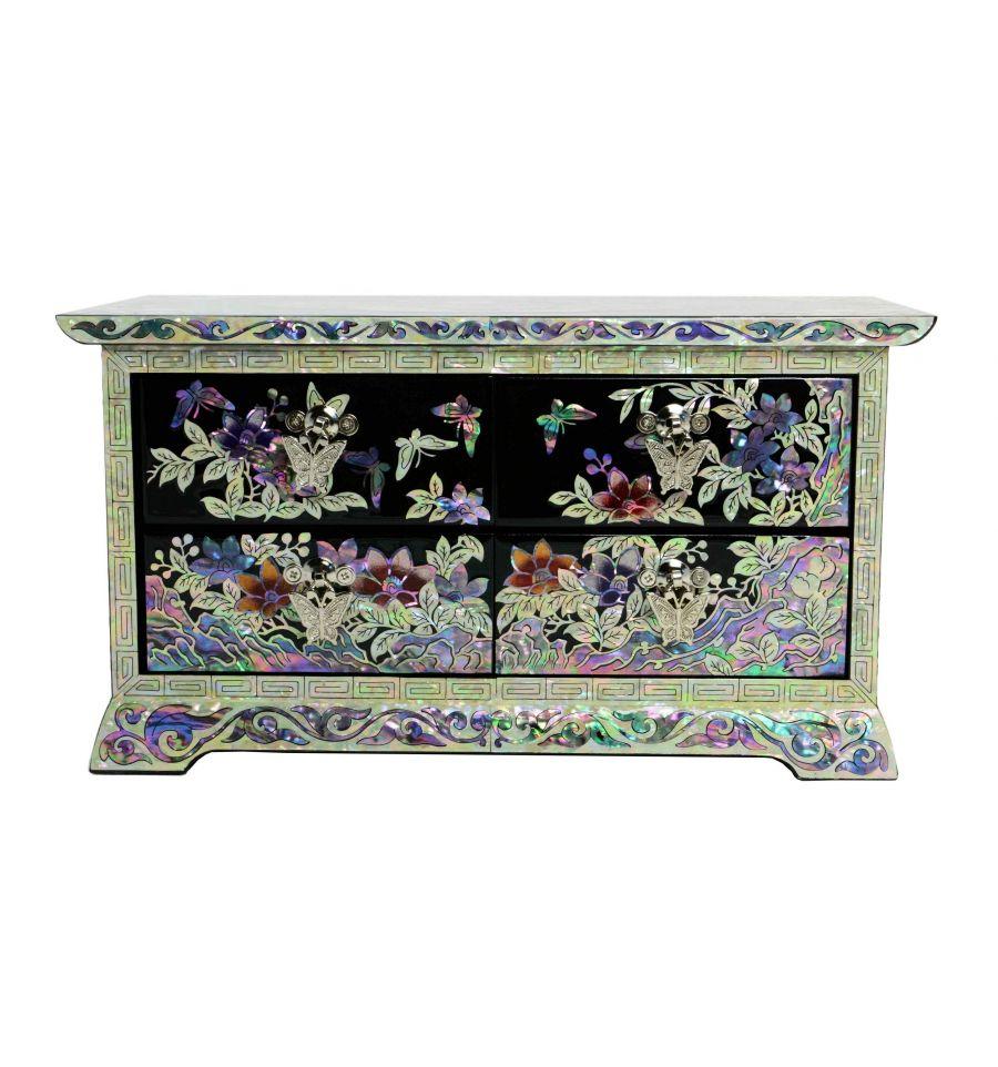 boites bijoux de nacre illustration de style cor ennes. Black Bedroom Furniture Sets. Home Design Ideas