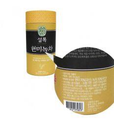 Une boite de 80g de thé vert hyeonmi Seolok