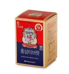 Comprimés  de ginseng rouge coréen 6 ans d'âge