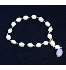 Bracelet Soon-Cheon: délice de perles blanches