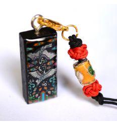 Pendentif décoratif en nacre design couple de hérons