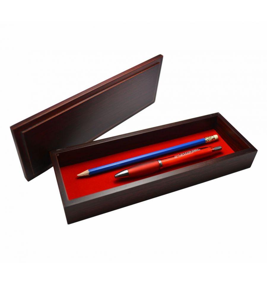 boite crayons en bois d cor de nacre accessoire de bureau de luxe. Black Bedroom Furniture Sets. Home Design Ideas