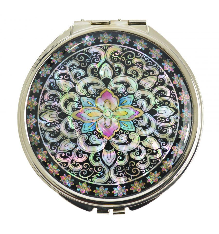 Miroir de poche luxe accessoire et artisanat de nacre for Acheter un miroir