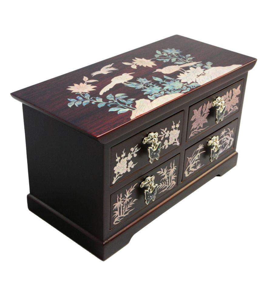 boites bijoux bois artisanat asiatique traditionnel. Black Bedroom Furniture Sets. Home Design Ideas