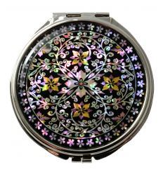 "Miroir de poche design : Lierre ""Nongkulggot"""
