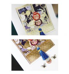Carte design porte-bleu