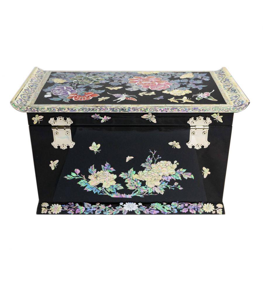 boite bijoux de luxe design nacre abalone naturelle. Black Bedroom Furniture Sets. Home Design Ideas