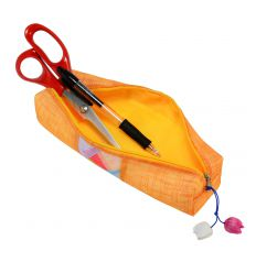 Trousse d'école orange