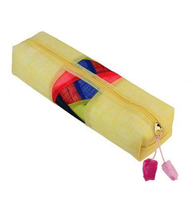 Trousse scolaire jaune design chogakpo