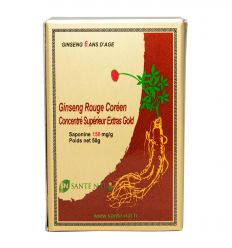 Extrait de Ginseng rouge Gold - 15mg/g de ginsenosides