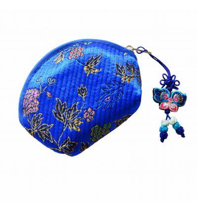 Porte-monnaie femme bleu Océan