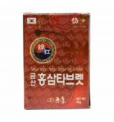 Ginseng Rouge 6 ans Comprimés - Geumsam 45g