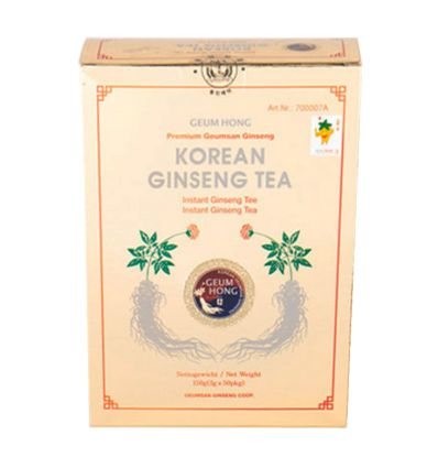 Ginseng rouge infusion lyophilisée - 50x3g - 8Omg ginseng saponine