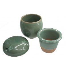Set deux tasse design hérons