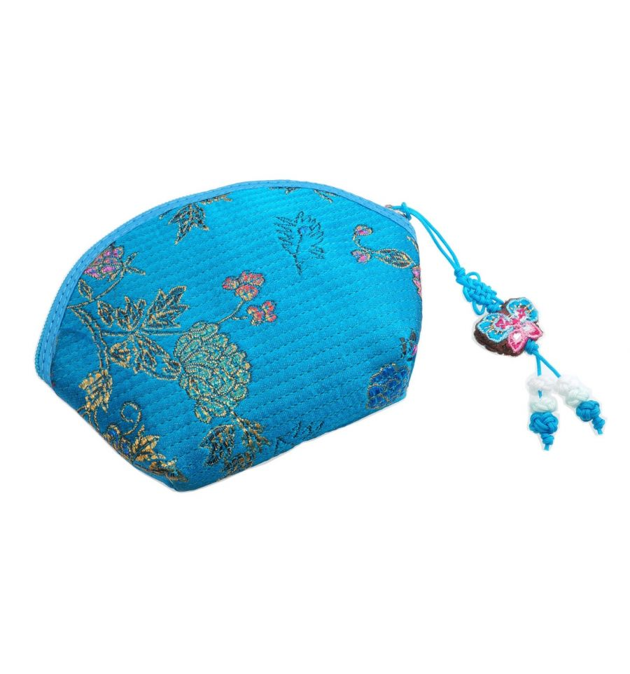 Porte monnaie femme bleu accessoires tissu pas originaux - Porte monnaie en tissu ...