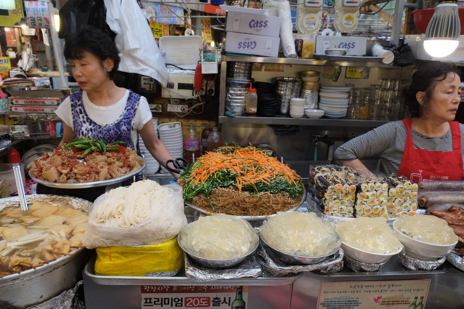 Le marché de Gwangjang 2