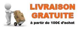 Livraison gratuite à partir de 100€