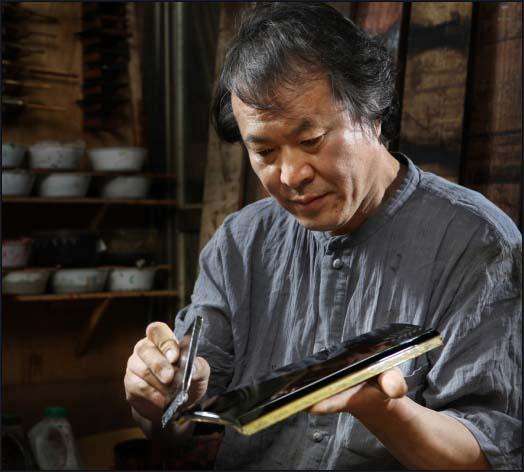 artisan de nacre Coréen
