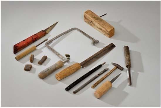 outils utilisés pour la technique Najeon Chilgi